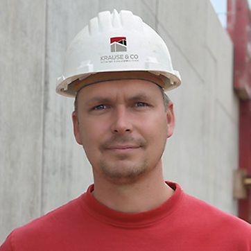 Tilo Leonhard, Polier bei Krause & Co. Hoch-, Tief- und Anlagenbau GmbH, Neukirchen