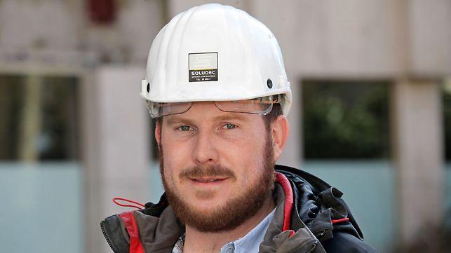 Kommentar von Thomas Bronquard, dem Polier beim PERI Projekt Hotel Royal Luxemburg mit PERI UP, MULTIFLEX und VARIOKIT Produkten.