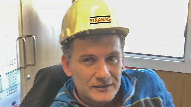 Porträt von Marko Rados, Projektleiter bei STRABAG d.o.o. Zagreb, Kroatien, Direktion MU-CC