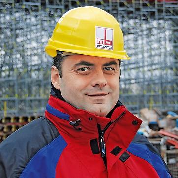 Ľuboš Šalváry, Site Manager: Motorway Bridge D1, Považská Bystrica, Slovakia