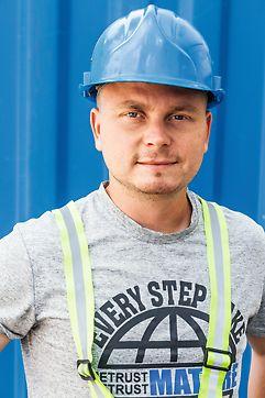 Róbert Zubričan, stavbyvedúci