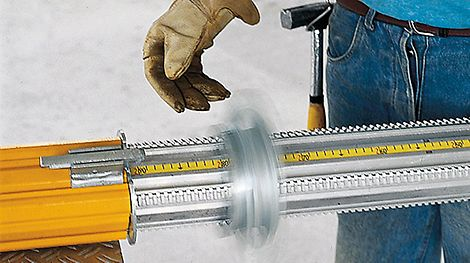 Low weight, high load-bearing capacity, an integrated measuring tape and the self-cleaning thread are the basis for the rapid success of MULTIPROP around the world.