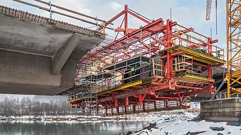 European Route E6 expansion in Norway - Cooperation with PERI engineers and PORR Polen Infrastructure.
