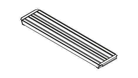 Belagtafel Stahl UDS 32 x 150 Belagtafel Stahl UDS 32 x 200 Belagtafel Stahl UDS 32 x 250