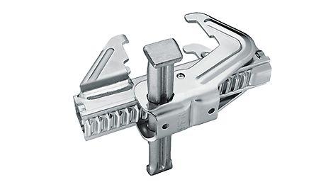 Das BFD Richtschloß für TRIO Rahmenschalung mach Elementverbindungen bündig, fluchtend und dicht.