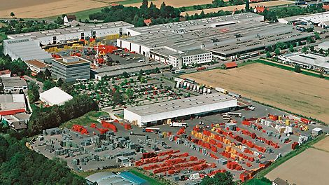 Vista de la empresa PERI en 2005