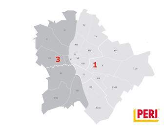 Zsalu értékesítési területek, Budapest