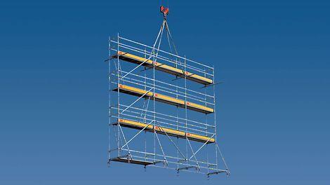 Systém lešení PERI UP byl uveden na trh roku 1998.