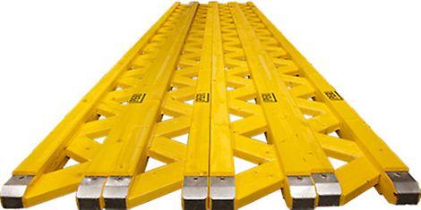 PERI GT 24 trave reticolare in legno, versatile con elevata capacità di carico