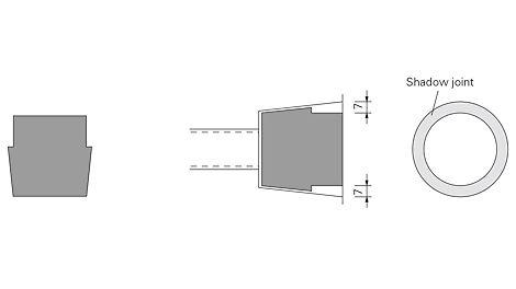 DK Concrete Cone Architectural 01 DW 15-58/52