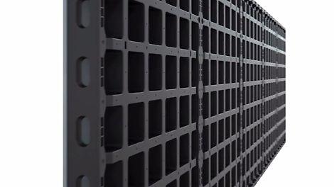 PERI DUO - lekkie, uniwersalne deskowanie do ścian, stropów i słupów. System wyróżnia się wyjątkową łatwością użytkowania oraz minimalną liczbą elementów konstrukcyjnych.