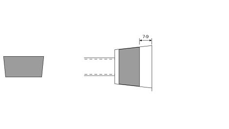 DK Concrete Cone DW 15-58/30