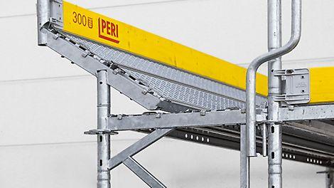 Wspornik standardowy. Szczegóły wykonania systemu PERI UP Easy Wspornik ECM