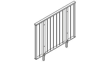 Treppengeländer UZG 150