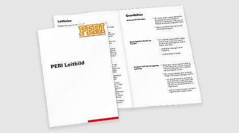 Úspěch společnosti PERI byl vždy založen na stabilních hodnotách. Pro Artura a Christl Schwörer jsou nejdůležitější tři zásady: úcta k jednotlivci, nejlepší služby pro zákazníky a snaha o dokonalost. V roce 1985 vytvořil zakladatel Artur Schwörer z těchto zažitých zásad prohlášení o poslání.