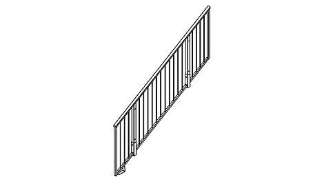Treppengeländer UZG 250/150