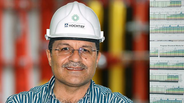 Picture of Ghassan Kawash, project leader at Hochtief Construction Qatar W.L.L., Doha