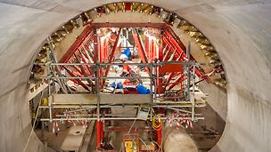 VARIOKIT, the adjustable formwork for tunnel projects supplied by PERI