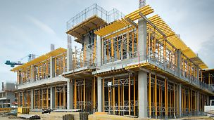 Versatile falsework from PERI assists construction of new sweet factory