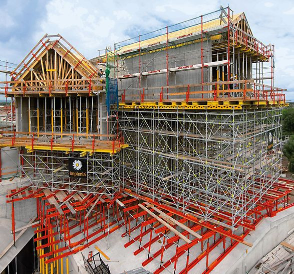 VitraHaus, Weil am Rhein, Germany - The comprehensive PERI formwork and scaffolding solution took into consideration all geometrical, static and safety requirements.
