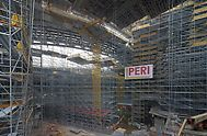 express rail link west Kowloon terminus birdcage scaffold