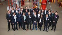 The finalists came from universities in Germany and Austria and presented their solutions at the end of November in the PERI training centre in Weissenhorn in front of a large audience and jury of industry experts.