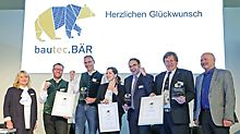 For the first time in Berlin, the bautec.Innovation Award was presented in 2018 as part of a public award ceremony.