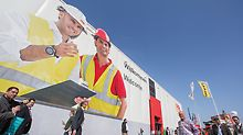 PERI exhibition tent at bauma 2016