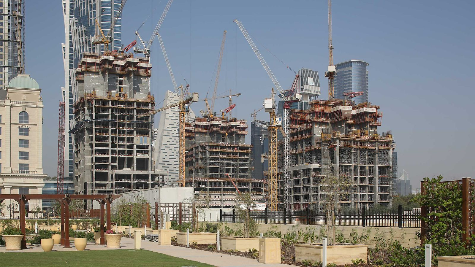3 luxury highrise towers being built as part of the major Al Habtoor City Development along the highly anticipated Dubai Water Canal