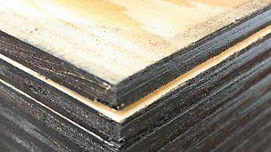 Oljet Combi Forskalingsplate produsert i Kina, oljet utførelse, kjerne av poppel og bjerk. OSB finer finèr kryssfiner plate tre panel PERI spon forskalingsfiner prefab industri