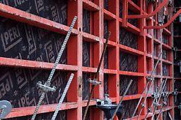 Dankzij de BFD klem kunnen TRIO wandpanelen twee hoog en twee breed aan elkaar gemonteerd worden.