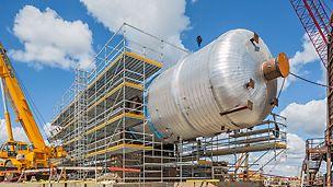 Progetti PERI, Raffineria Northwest Redwater, Edmonton, Canada - Il primo dei tre nuovi impianti entrerà in funzione dall'autunno del 2017