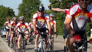 PERI cycling team