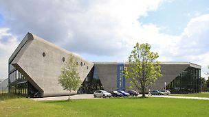 Muzeum Lotnictwa Polskiego - widok obiektu po oddaniu do użytku