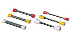 Los sistemas de atado DK y SK sirven para un sellado posterior, confiable de los puntos de atado
