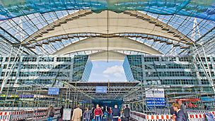 Building Refurbishment, Forum Roof of Munich Airport
