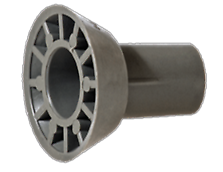 Distance cone, for use together with form-tie spacer tube