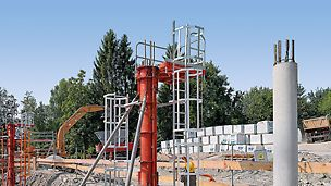 In addition, ladder connections are also available for different column formwork systems.