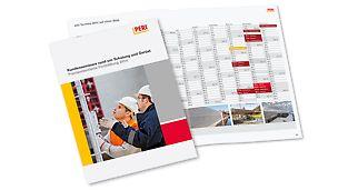 Seminarkalender für Bauführer, Polierer, Schalungsbauer und Facharbeiter
