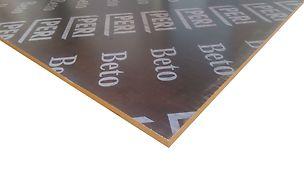Brüt beton yüzeyleri için dayanıklı plywood