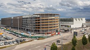 Parkhaus P 14, Flughafen Stuttgart, Deutschland