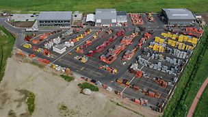PERI officially inaugurated its new site in Boom near the Belgian city of Antwerp in Belgium.