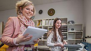 Probiere deinen Job aus bevor du ihn erlernst: Schnupperlehre bei PERI