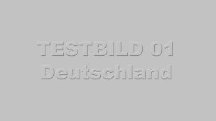 Testbild Deutschland