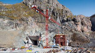 Für die Bauarbeiten bieten PERI und MCE ein durchdachtes Schalungskonzept, einen baubegleitenden Support und Montageunterstützung durch einen Richtmeister.