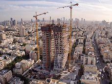 בנין מגורים בן 29 קומות בלב הצפון הישן של תל אביב