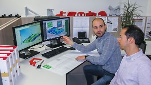 W celu ustalenia optymalnego składu materiału do danego rodzaju zastosowania, właściwości materiału badane są najpierw w oparciu o symulację metodą elementów skończonych.
