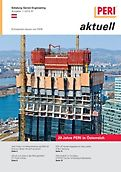 Cover der Ausgabe des Kundenmagazins PERI aktuell Österreich für das Jahr 2012