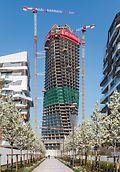 Generali Tower, Milán, Itálie - Lo Storto, stočená, budoucí správní budova pojišťovací společnosti Generali