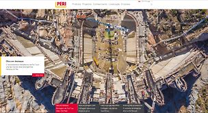 Página inicio PERI Portugal